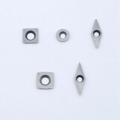 Carbide Inserts Blade For Chisel Milling Lathe Wood Turning Tool 90 HCR Hardness