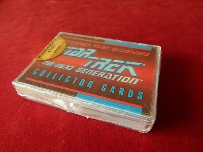 Set Of Star Trek The Next Generation Behind The Scenes Collector Trading Cards