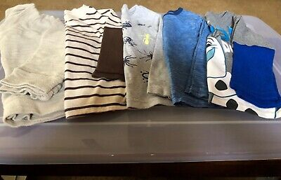 boys lot of 5 tops disney/gymboree/carters wonderkids/garanimals 3T vguc