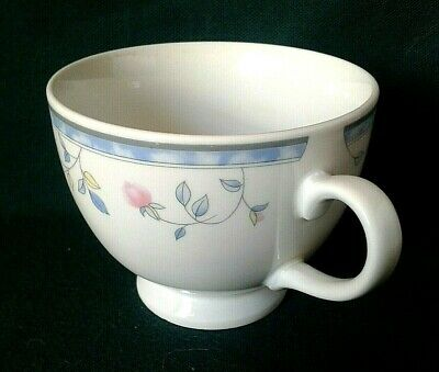 Johnson Brothers St Malo Breakfast Teacup Ironstone Tea Cup Pink Yellow Flowers