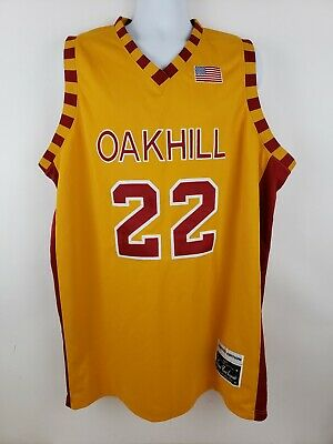 7268fb258aef Carmelo Anthony School Yard Legends Oak Hill Academy High School Jersey Size  56