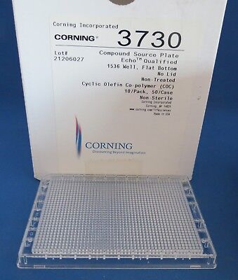 8 Corning Compound Source Echo 1536 Well Microplates 3730