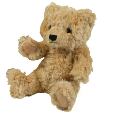 New MUMBLES Classic Jointed Teddy Bear in White/Navy S - M
