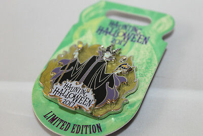 Disney Parks Haunting Halloween 2017 Maleficent Limited Edition Pin