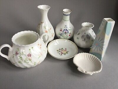Wedgwood Odds Selection Incl. Posy Vases/Dishes - Campion, April Flowers, Louise