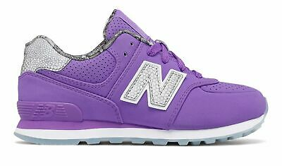 New Balance Kid's 574 Luxe Rep Big Kids Female Shoes Purple