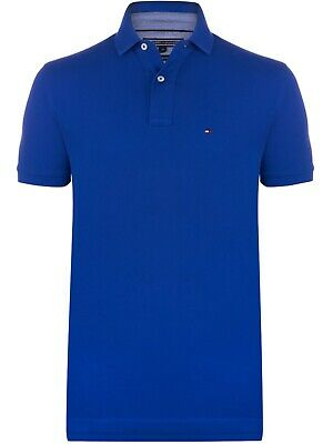 Tommy Hilfiger Polo T Shirt for Men – Custom Fit Short Sleeve Polo