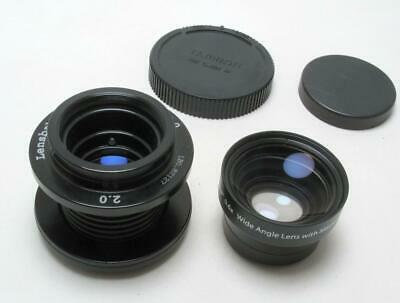 Lensbaby 2.0 with 0.6x Wide Angle Lens w /Macro 37mm Canon EF nr MINT Condition