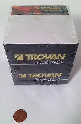 Trovan Drug Rep Pharma Notepad Promo - Sealed and New Condition - RARE