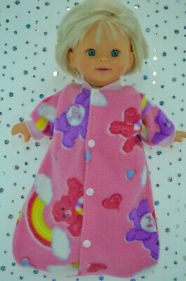 """Play n Wear Dolls Clothes For 13"""" Little Mommy/Baby Born PRINTED SLEEPING BAG"""