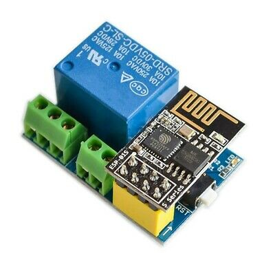 ESP8266 ESP-01S 5V WiFi Relay Module Things Smart Home Remote Control Switch 1H