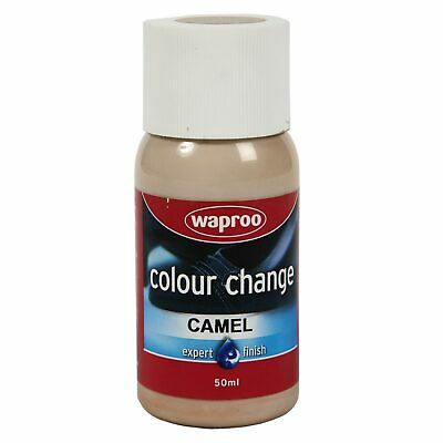 WAPROO Leather & Synthetic Shoe Paint Colour Change / Includes Brush / Camel
