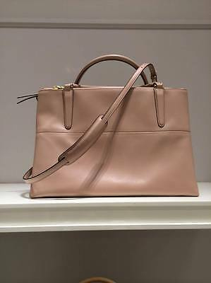 AUTHENTIC COACH Borough Bag SPRING 2014 Soft baby nude pink RRP $995 S