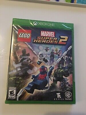 Xbox One Xb1 Video Game Lego Marvel Super Heroes 2 Brand New And Sealed