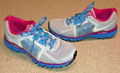 1e9e00640b7f8 NIKE DUAL FUSION ST2 Womens Running Athletic Shoes US Size 6 Pink ...