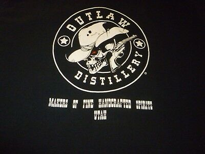 Outlaw Distillery Shirt ( Used Size L ) Very Nice Condition!!!