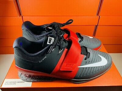 0dfa479a6062b NIKE ROMALEOS 3 Mens Weightlifting CrossFit Shoes Red/Grey Size 14  (852933-600)