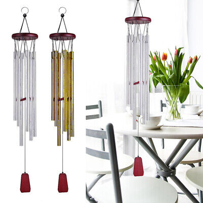 33inch Long Wind Chimes Aluminum Hanging Home Ornament Outdoor Garden Yard Decor