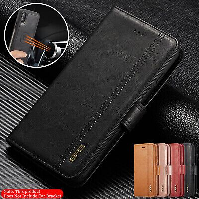 For iPhone 8 Plus 7 6 5 XS Max XR Case Detachable Magnetic Leather Wallet Cover