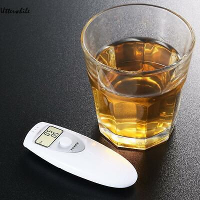 Portable Mini LCD Digital Breath Alcohol Tester Alarm Analyzer Detector U8HE 01