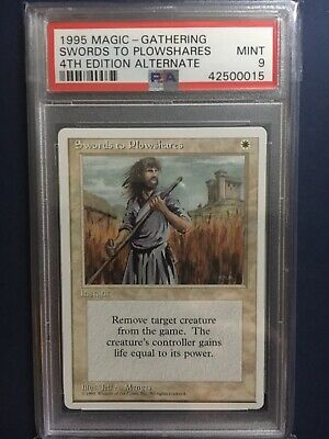 1x Swords to Plowshares MTG Revised Magic The Gathering HP Cond English