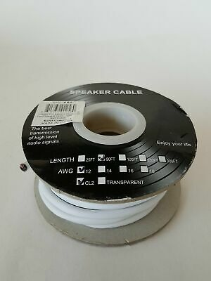 Speaker Cable 12 AWG CL2 Audio Wire
