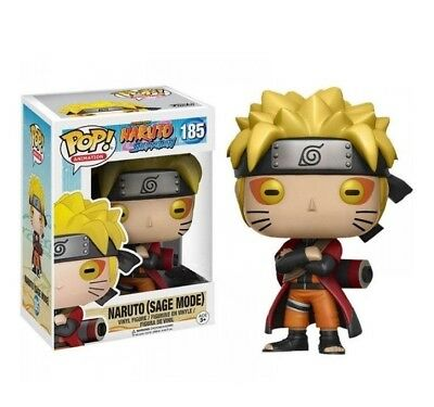 ANIME: Naruto (Sage Mode) EXCLUSIVE FUNKO POP VINYL FIGURE *NEW* RARE sale!