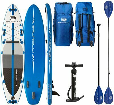Brunelli 10.8 Premium Sup Board Stand Up Paddle Surf-Board avec Pagaie 325cm