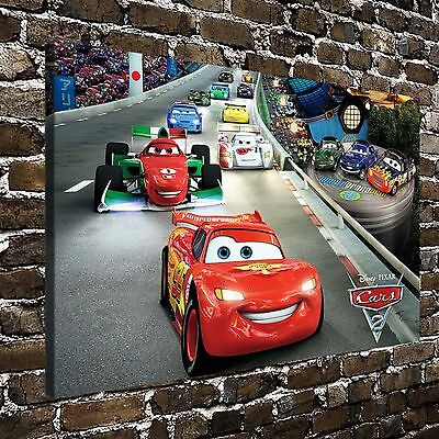 "Disney Cars Paintings HD Print on Canvas Home Decor Wall Art Pictures 16""x26"""