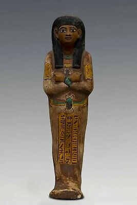 Rare ANCIENT EGYPT EGYPTIANT STATUE Antiques, Shabti Dolls Carved Limestone,BC