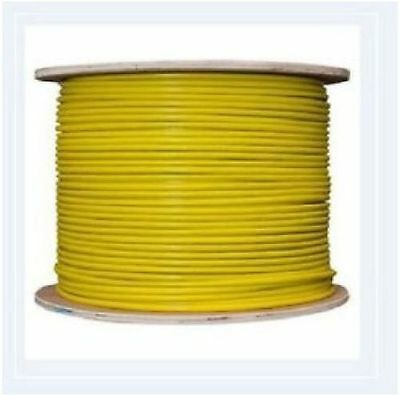 Earth Tri-rated Panel /& Conduit Cable 1.5mm² 16AWG 21Amp 600V Green//Yellow