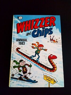 Whizzer And Chips 1983 Vintage Comic Book Annual