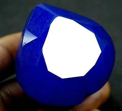 GGL Certified 367 Ct Natural Beautiful Heart Shape Blue Sapphire Gemstone