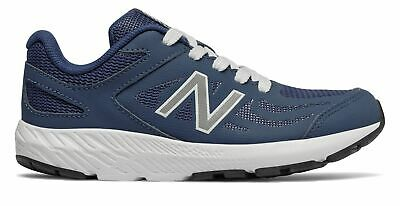 New Balance Kid's 519 Big Kids Male Shoes Navy with White