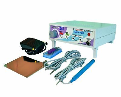 New Electrosurgical Cautery Diathermy ELECTRO SKIN Cautery Portable Unit CNU&