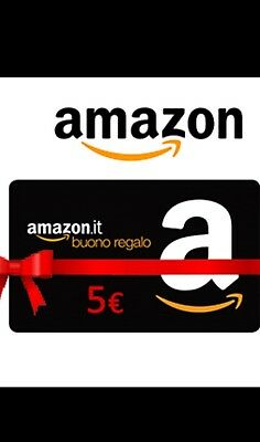 Buono Regalo Amazon.it da 5 euro Amazon Gift card 5€ a EUR 6,60