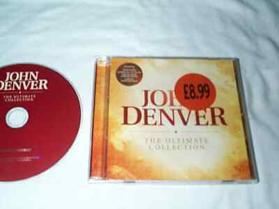 John Denver CD - The Ultimate Collection 19 Tracks *CD NEW* Classic Country