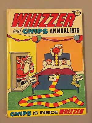 Vintage 'Whizzer and Chips' Comic Book Fleetway Annual 1976