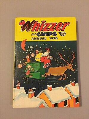 Vintage 'Whizzer and Chips' Comic Book Fleetway Annual 1978