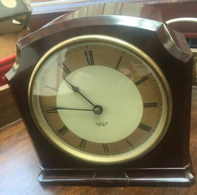 smith sectric bakelite clock, working & perfect time keeping vnmint cond,polishd