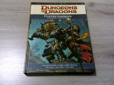 D&D 4th Edition Player's Handbook Core Rules Hardcover WotC 2008