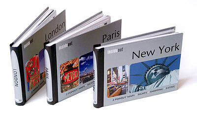 InsideOut Travel City Pocket Guides with PopOut Maps by Compass EXPRESS DELIVERY