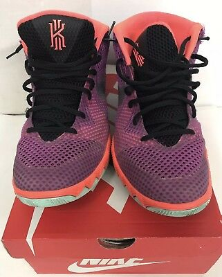 27a608c9227e Nike Men s Kyrie 1 Easter Medium Berry Silver Hot Lava 705277-508 Sz 12 NICE