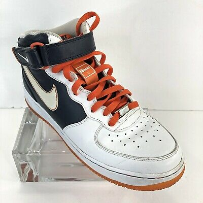 new concept ca2be 6a7b3 Nike Air Force XXV basketball shoes size 9.5 blue white athletic high top  2007