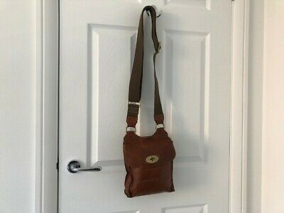 b252c9d1df9b Genuine Mulberry Antony Small Leather Crossbody Bag in Gorgeous Tan Leather