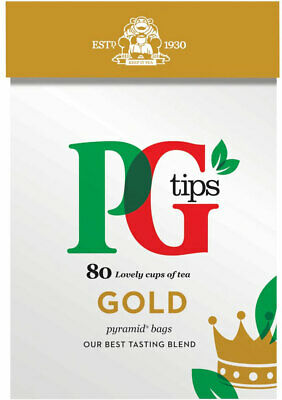 PG Tips Gold Pyramid Tea Bags 2 x 80s