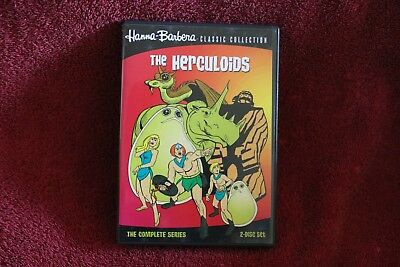The Herculoids 2-Disc DVD Set The Complete Series Hanna Barbera '60's Classic