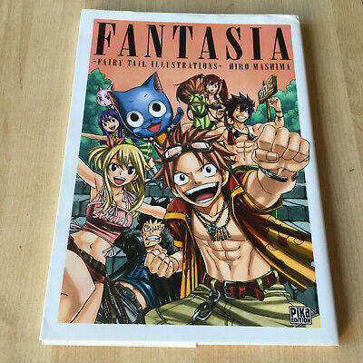 Fairy Tail Illustrations Fantasia Japanese Artbook Japan Art