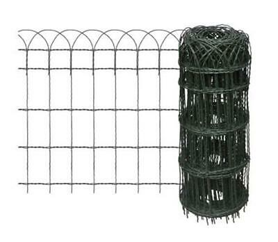Garden Border Fence Lawn Edging Expandable Wire Weatherproof Decorative Fencing