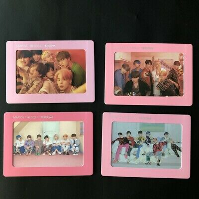 BTS MAP OF THE SOUL : PERSONA'  Special Gift Aurora Photo Frame & Group Postcard